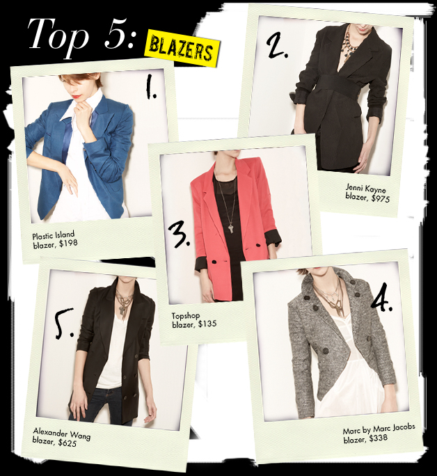 Top 5 Types of Blazers